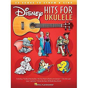 Disney Hits för ukulele: 23 Songs till Strum & Sing