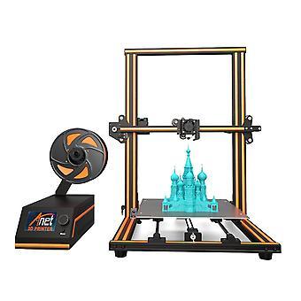 Anet e16 3d stampante diy kit 300, 300 -400mm dimensione di stampa supporto offling / stampa online con 250g filamento 1.75mm 0.4mm ugello