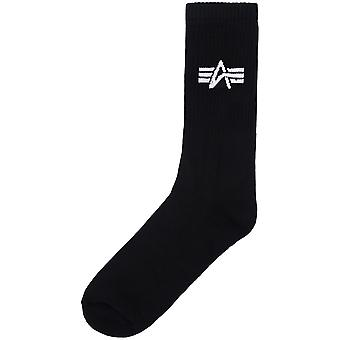 Alpha Industries Unisex Chaussettes Basic Three Pack
