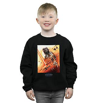 Star Wars The Rise Of Skywalker First Order Poster Boys Sweatshirt