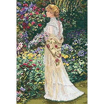 Gold Collection In Her Garden Counted Cross Stitch Kit 11