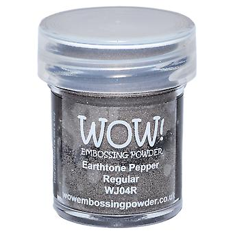 Wow! Embossing Powder 15Ml Pepper Wow Wj04r