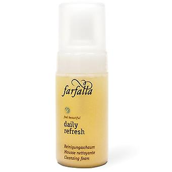 Farfalla daily refresh cleansing foam