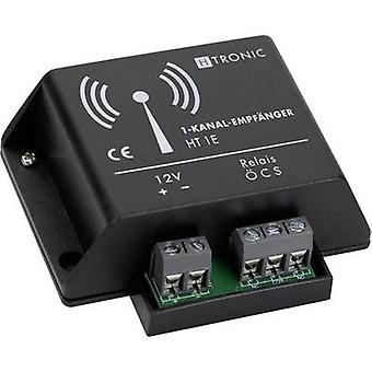 Wireless receiver 1-channel Frequency 868.35 MHz H-Tronic 1618260