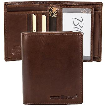 Greenburry burnt cow leather wallet 4802-24