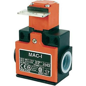 Limit switch 400 Vac 10 A Steel lever (curved) momentary Panasonic MA165T87Z11 IP65 1 pc(s)