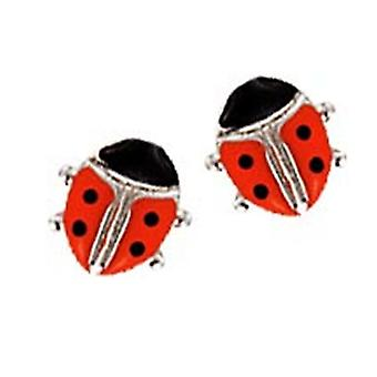 Scout children earrings silver Ladybug girl 262123100