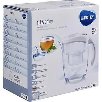 Water filter Brita Elemaris XL Cool white 1000816 3.5 l White