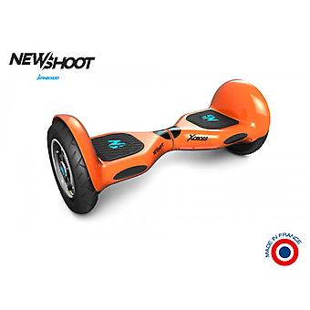 hoverboard spinboard © x intense orange cross