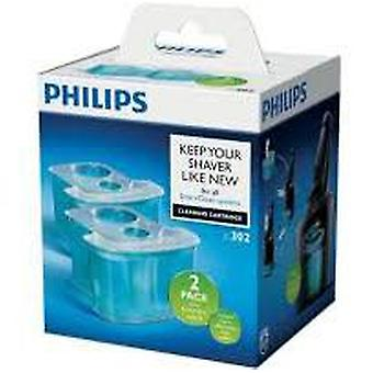 Philips Cleaning Cartridge Smartclean 2 Units (Man , Shaving , Accessories)