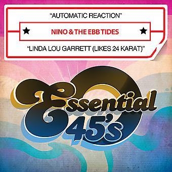 Nino & Ebb Tides - Automatic Reaction / Linda Lou Garrett (Likes 24K) USA import