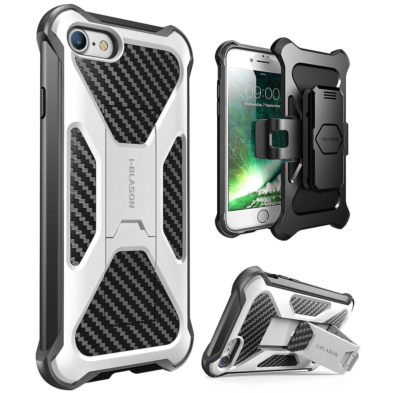 iPhone 7 Case-Transformer [Kickstand] Holster Case, Iphone 7 Case-White