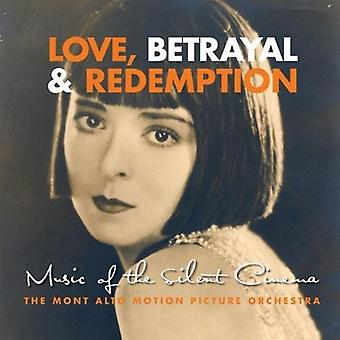 Mont Alto Motion Picture orkester - kærlighed, forræderi & Redemption: Musik af Silent biograf [CD] USA importen