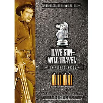 Have Gun Will Travel - Have Gun Will Travel: Fourth Season Volume One [DVD] USA import