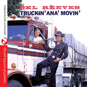 Del Reeves - Truckin Ana Movin [CD] USA import