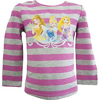 Girls Disney Princess Long Sleeved Top