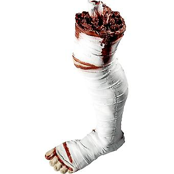 Bloody leg Abgehaktes leg decoration Halloween Mummy