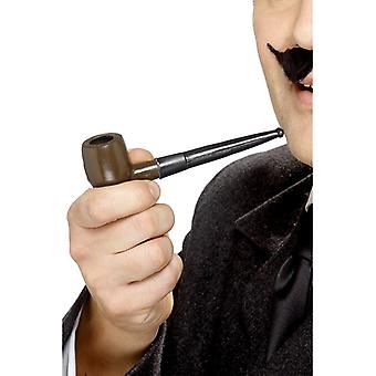 Sherlock Holmes pipe to the costume detective pipe
