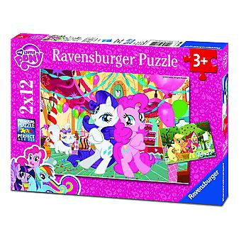 Ravensburger My Little Pony Puzzle Doble 12 Piezas (Toys , Preschool , Puzzles And Blocs)