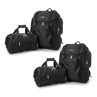 Set of 4: 2 x Ultra-Lightweight Backpack 2nd Bag
