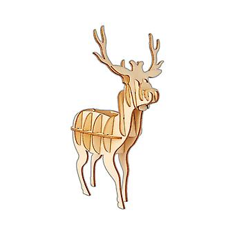 Craft Your Own DIY Stag Kit - Wooden Christmas Decoration