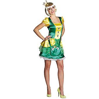 Donne Costumi Sexy rana principessa abito