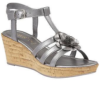 Lotus Ottila Womens Wedhe Heel Sandals