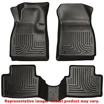 Husky Liners 99791 Black WeatherBeater Front & 2nd Seat FITS:MAZDA 2014 - 2014