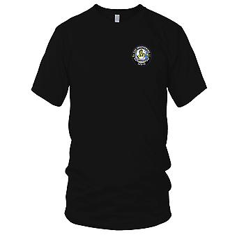 US Navy USS Shreveport LPD-12 Embroidered Patch - Mens T Shirt