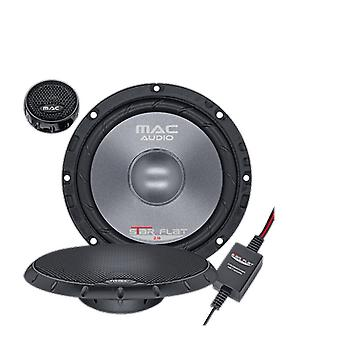B goods Mac audio star flat 213, 2 way component system of maximum 280 Watts, 1 pair