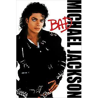 Michael Jackson Bad Poster drucken (24 x 36)