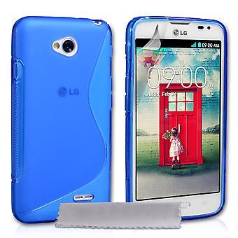 Caseflex LG L70 silikone Gel S-Line sag - blå