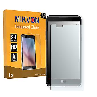 LG X power Screen Protector - Mikvon flexible Tempered Glass 9H (Retail Package with accessories)
