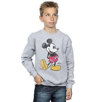 Disney Boys Mickey Mouse Classic Kick Sweatshirt