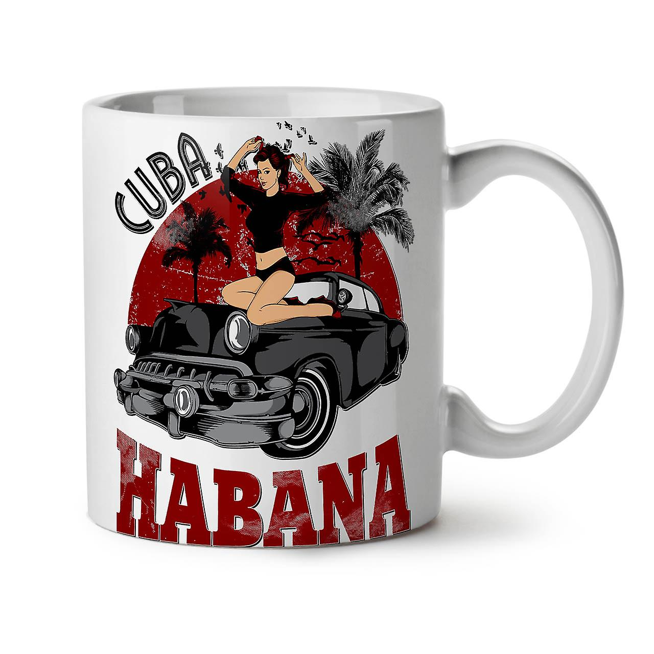 Thé OzWellcoda Café Capital Blanc Habana 11 Tasse Nouveau Céramique Cuba erBodCx