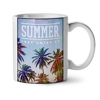 Verano el sol té blanco nueva taza de café de cerámica 11 oz | Wellcoda