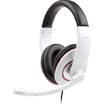 PC headset 3.5 mm jack Corded, Stereo Gembird MHS-001-GW