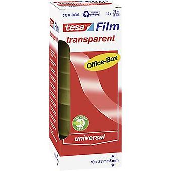 Tesa film tesafilm® Transparent (L x W) 33 m x 15 mm tesa