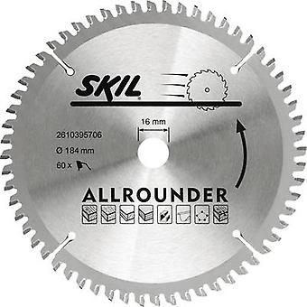 SKIL 2610395706 Diameter: 184 mm Number of cogs: 60 saw blade