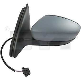 Left Mirror (electric heated primed cover) For Seat TOLEDO IV 2012-2017