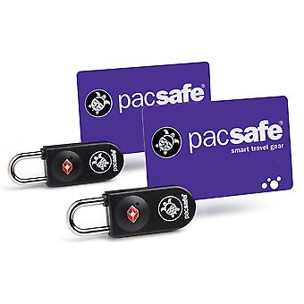 Pacsafe Prosafe 750 2 Pack Key Card serrature - nero