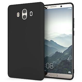 Huawei Mate 10 Matte Gel Case - schwarz