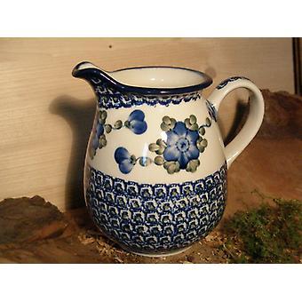 Kande, 1000 ml, højde 16 cm, 9, traditionel polsk keramik - BSN 4798