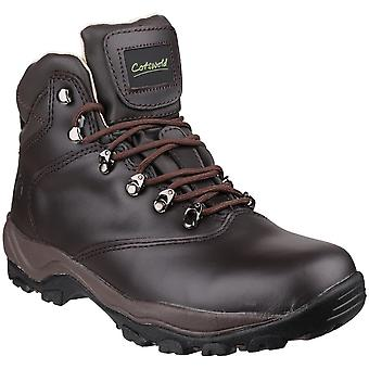 Cotswold Womens/Ladies Winstone Waterproof Waxed Leather Walking Boots