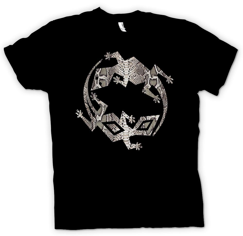 Kids T-shirt - Lizard and Gecko Symbol - Snake Skin