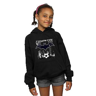 DC Comics Girls Batman Football Gotham City Hoodie