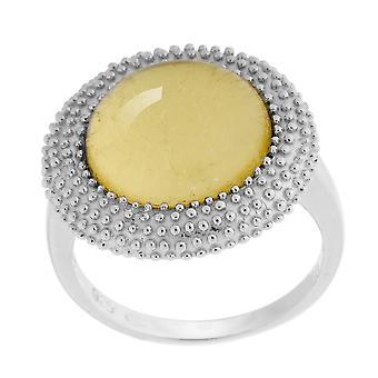 Orphelia Silver 925 Ring Gold Sheet  ZR-6041/2