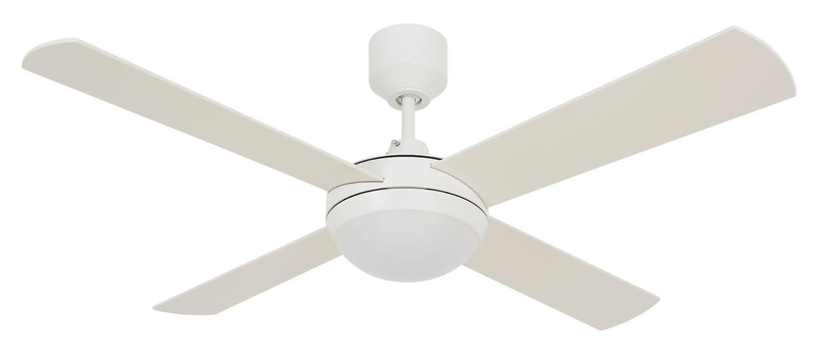 LED ceiling fan Futura Eco blanc with remote control