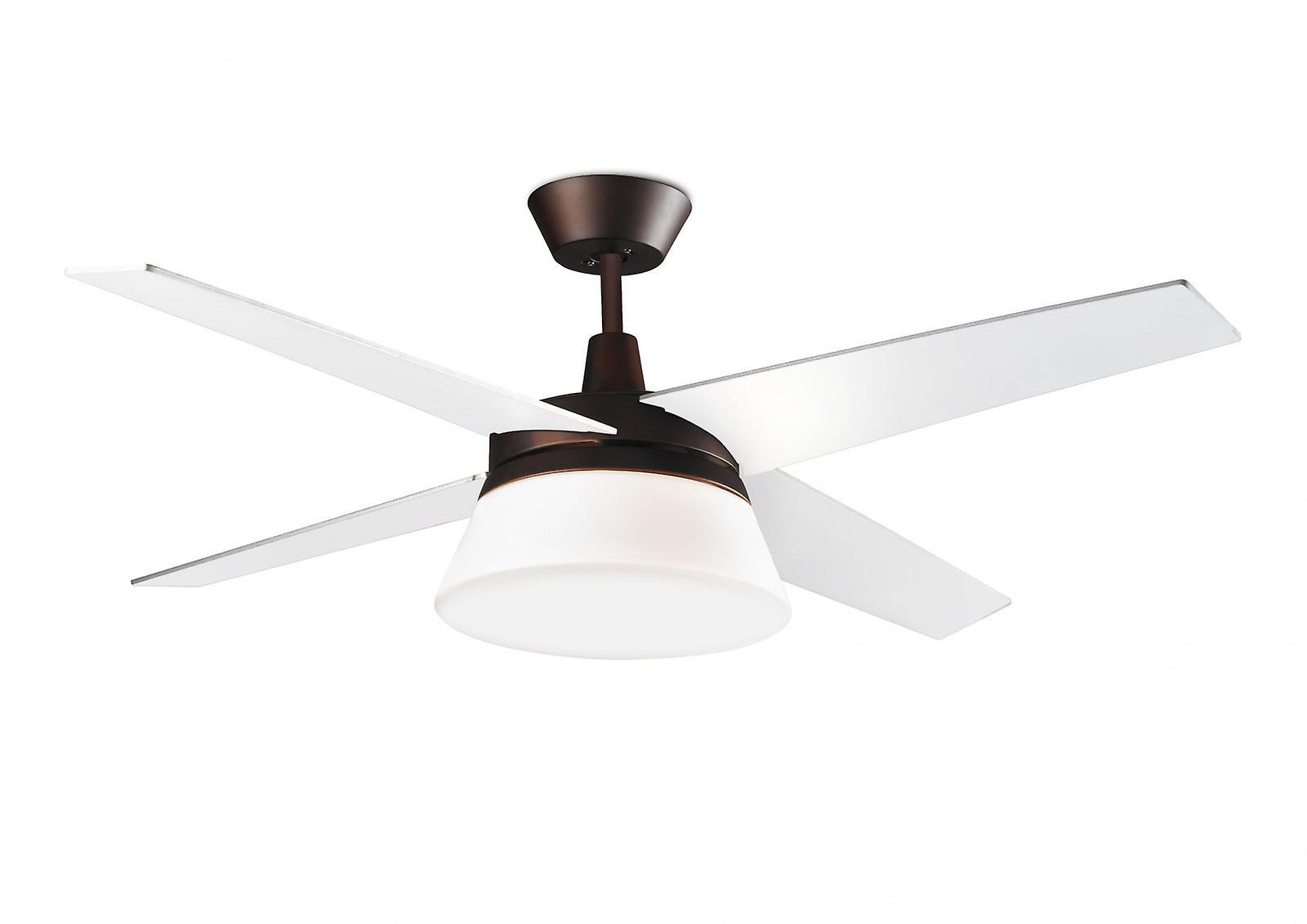 Leds c4 design plafond ventilateur banus 132 cm 52 avec clairage fruugo - Ventilateur plafond design ...