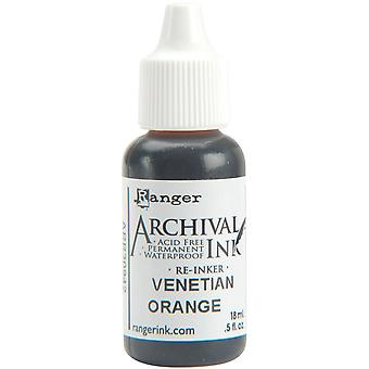 Archival Pad Re-Inker .5oz-Venetian Orange